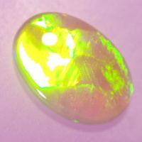 Yellow-Green Opal