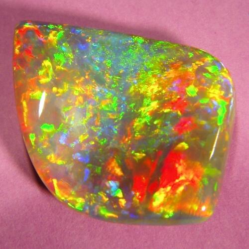 Semi-Black Opals